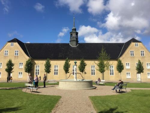 Christiansfeld. Kirche der Herrnhuter Brüdergemeine