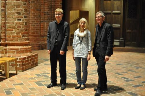 Løgumkloster. Hymn festival (Elie Jolliet, Susanne Brandt, Andreas Marti)